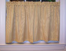 Black Ticking Curtains Kitchen Curtains Thecurtainshop Com