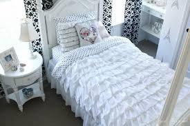 white frilled duvet cover sweetgalas