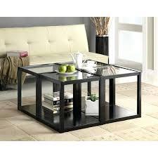 Glass Drop Leaf Table Stackable Tables For Schools Walmart Black Finish Wood Frame