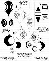 vintage ornaments ii st set papertrey ink clear sts dies
