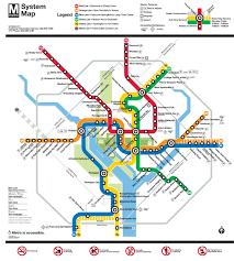 Metro Atlanta Map Wmata Unveils A New And Improved Metro Map