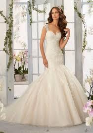 mermaid style wedding dresses gorgeous frosted beading onto tulle mermaid morilee bridal wedding