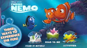 finding nemo storybook deluxe disney app kids