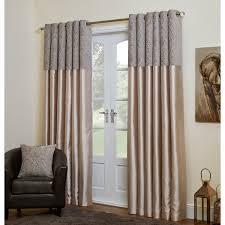 Eyelet Curtains Sylvia Chenille Eyelet Curtains