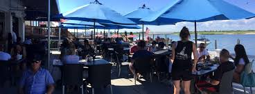 Patio Bar Point Pleasant The Buoy Bar Waterfront Dining On The South Shore Of Long Island