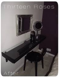 Black Vanity Table Ikea Awesome Black Vanity Table Ikea With Hemnes Dressing Table With