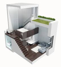 Multi Level Floor Plans Manhattan Micro Loft With Multi Level Interiors