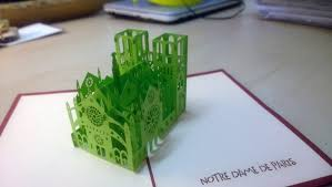 the gift for architect interior designer 3d popup cards