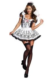 French Maid Halloween Costumes French Maid Costume Masquerade Express
