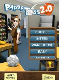 paper toss 2 0 for android free paper toss 2 0 apk - Paper Toss 2 0 Apk