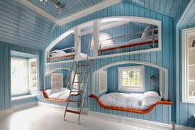 Bunk Bed Sconces Design Ideas - In wall bunk beds