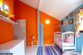 deco chambre orange déco chambre fille orange