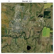 beulah dakota map aerial photography map of beulah nd dakota