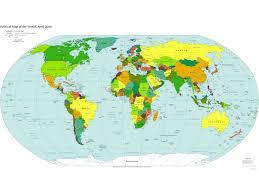 Large World Map Poster World Map Desktop Wallpaper Group 0