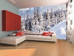 winter forest landscape 3d wall mural photo wallpaper for bedroom paisaje bosque invierno 3d mural foto papel pintado