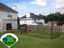 Batting Cage For Backyard by Batting Cage 45 Ft Long The Best Size Batting Cage For Baseball