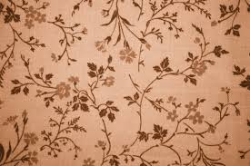 brown floral print fabric texture picture free photograph
