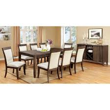 Online Dining Table by Furniture Of America Gibson Bold 9 Piece Dining Table Set Hayneedle