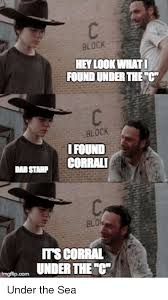 Hey Carl Meme - block hey look whati found underthere block ifound corrali dadstanp