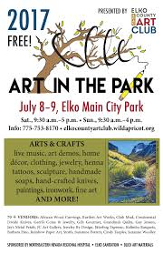 art in the park elko downtown business association