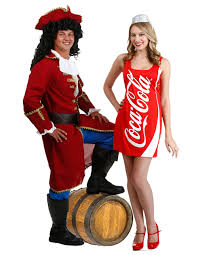 Coupons Halloween Costumes Captain Morgan Coke Couples Costumes Custom Costume