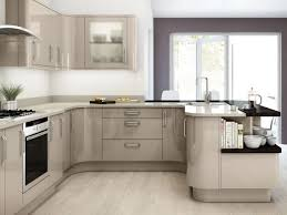 remarkable contemporary u shaped kitchen design without island