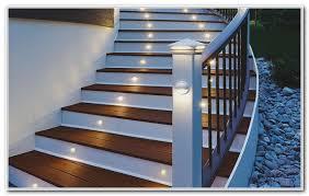 solar led deck step lights solar powered deck step lighting decks home decorating ideas