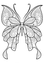 coloring pages butterfly color butterfly bookmark coloring