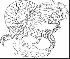 excellent chinese dragon coloring page with dragons coloring pages