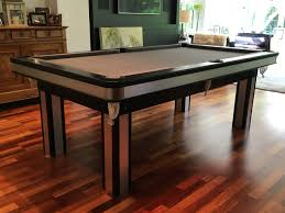 Pool Dining Table by Pool Dining Table With Brushed Aluminium Inserts Snooker U0026 Pool