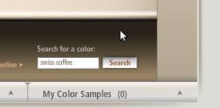 matching real life interior paint colors for use in google