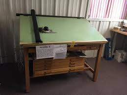 Vemco Drafting Table Vemco 7 V Track Drafting Auctions Proxibid