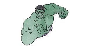 how to draw incredible hulk my ho to draw