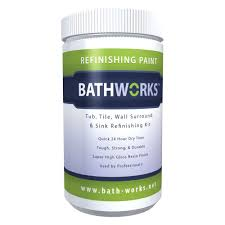 bathworks 20 oz diy bathtub and tile refinishing kit white bwk