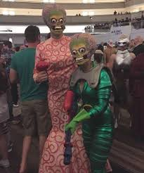 Mars Attacks Halloween Costume Outstanding Couples Cosplay Dragon 2016 Moviepilot