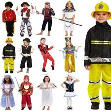 childrens kids boys girls halloween party fancy dress costume