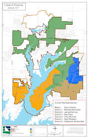 Map Of Denton County Town Council District Map Town Of Little Elm Tx Official Website