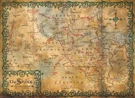 Map Middle Earth Map Of Middle Earth J R Tolkien Exceptional The Hobbit Interactive