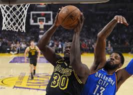 lakers crush shorthanded thunder in los angeles oklahoma