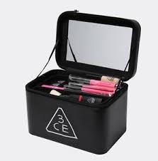 Makeup Box makeup box bag stylenanda 3ce black make up bog box cosmetic korean