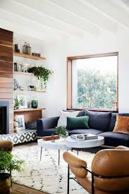 livingroom packages white living room with tv set chair and grey sofa stock photo