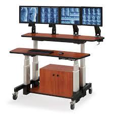 Adjustable Computer Desks Lovable Adjustable Computer Desk Cool Furniture Home Design Ideas