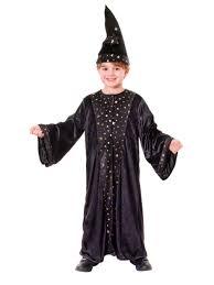 costume wizard robe childs kids wizard cloak u0026 hat fancy dress costume halloween book