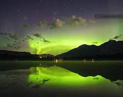 northern lights jasper national park jasper national park alberta canada decal sticker 3 x