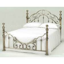 mega discounts harmony florence antique brass metal bed next