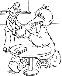sesame street coloring pages 45 coloring books