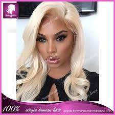 hairstyles with body wave hairnfor 60 color 60 platinum honey blonde human hair full lace wig body wave