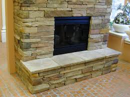 outstanding stone veneer fireplace before after pics decoration