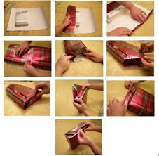 how to wrap presents how to wrap a present the fanfare