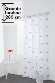 voilage chambre bébé voilage chambre enfant filles 140 cm x 280 cm grande hauteur à